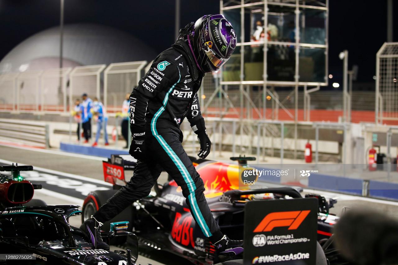 Mercedes take the top two spots, as Hamilton clinches pole - Bahrain GP Qualifying