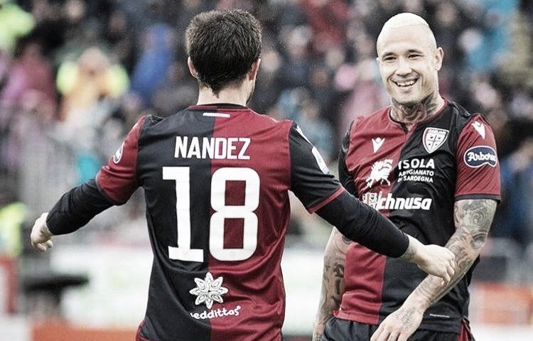 Nández por Nainggolan: Cagliari e Internazionale preparam troca de meio-campistas