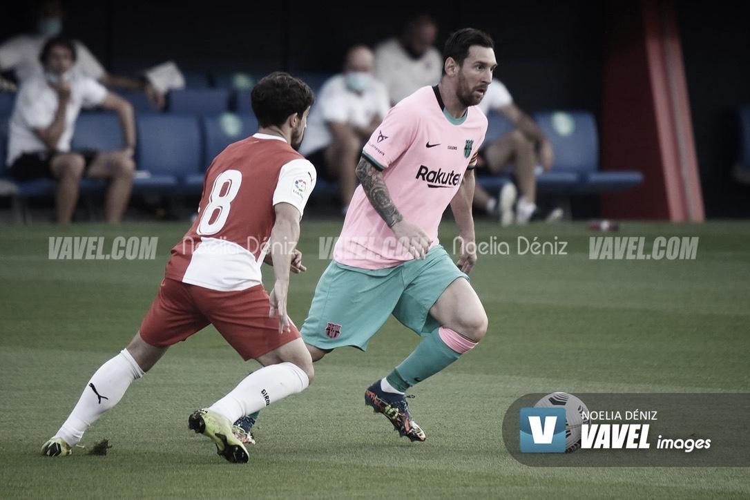 Leo Messi anota de falta en el debut de Argentina en la Copa América