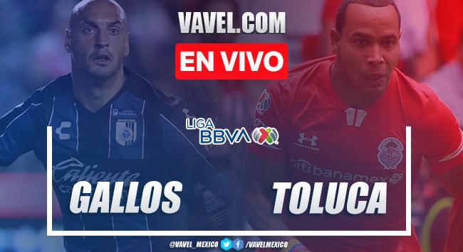 Goles y resumen del Querétaro 1-1 Toluca en Liga MX 2020