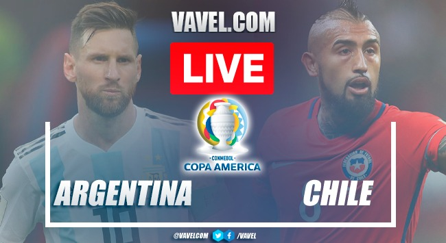 Goals and highlights: Argentina 1-1 Chile in 2021 Copa America