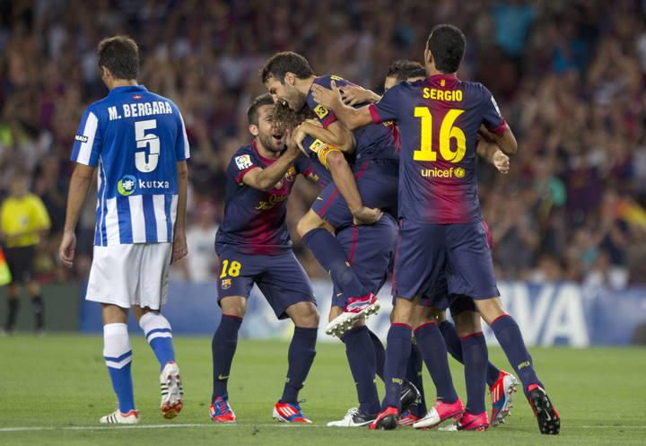 FC Barcelona - Real Sociedad: puntuaciones de la Real Sociedad, Jornada 1