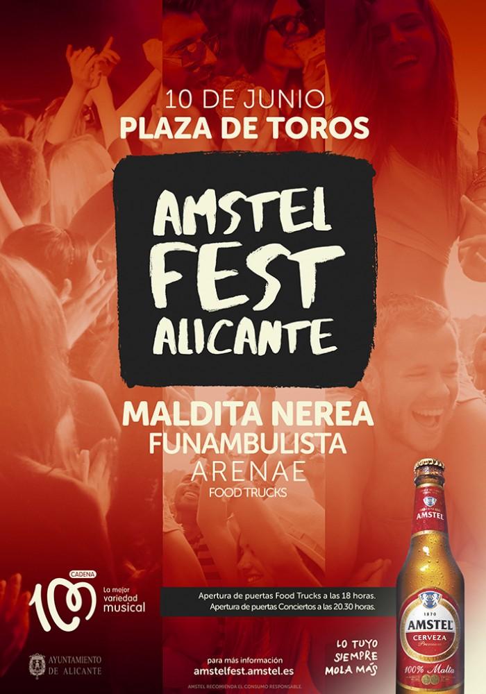 El Amstel Fest llega a Alicante con más fuerza que nunca