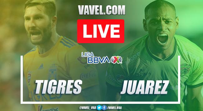 Goals and Highlights: Tigres 3-2 FC Juárez, 2020 Liga MX