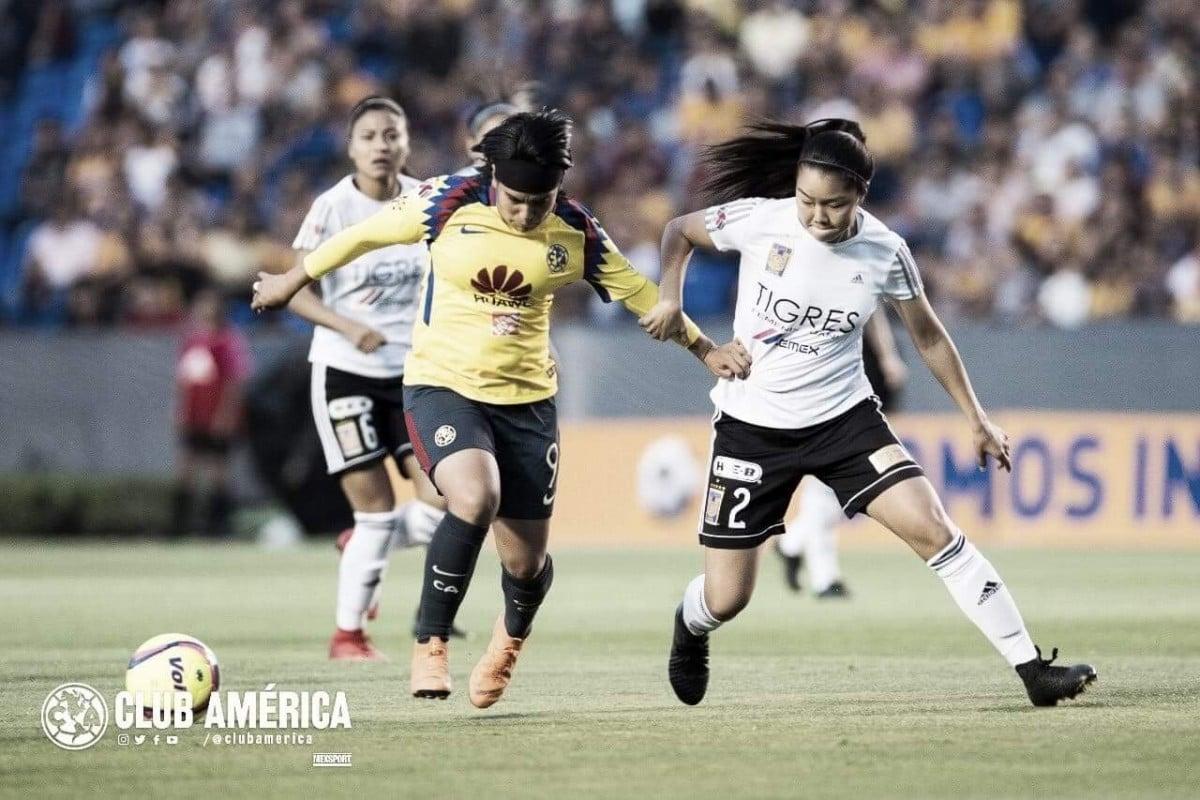 América femenil cae y Tigres tiene pie y medio en la final