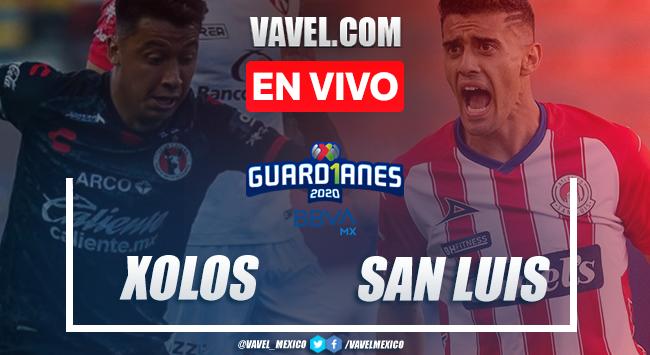 Goles y resumen del partido: Xolos 0-2 San Luis en Liga MX Guard1anes 2020