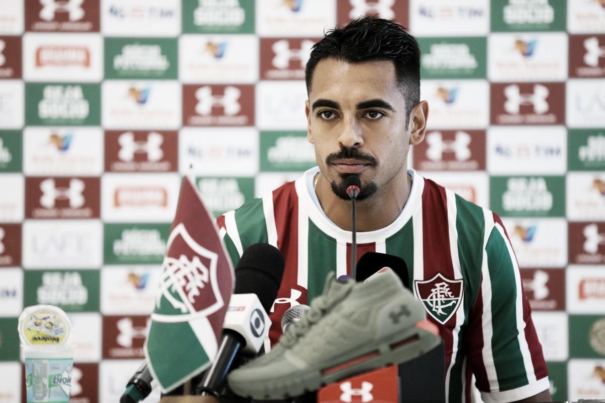"""Júnior Dutra promete empenho em período de empréstimo no Fluminense: """"Darei meu melhor"""""""