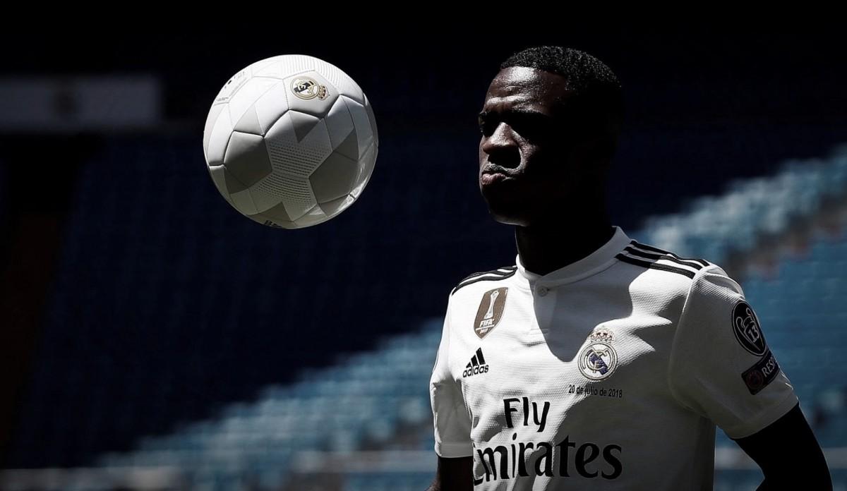 Vinicius Junior é inscrito nos juniores do Real Madrid para temporada 2018-19