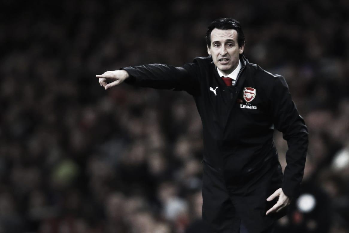"""Unai Emery celebra atuação Arsenal diante do Liverpool: """"O progresso leva tempo"""""""