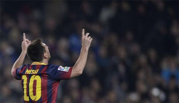Messi is back !