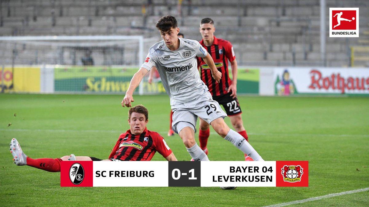 Il Leverkusen passa 1-0 a Friburgo