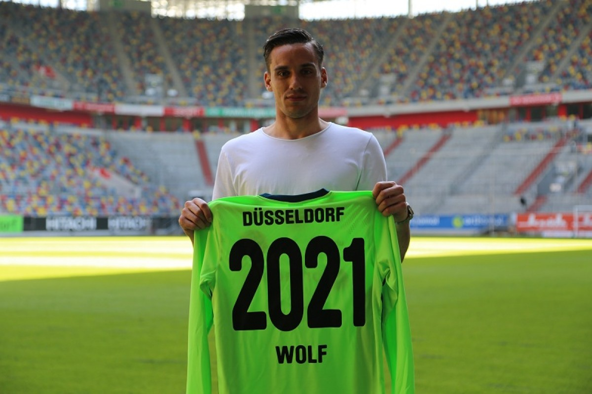 Raphael Wolf commits his future to Fortuna Düsseldorf