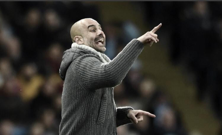 """Guardiola exalta futebol inglês após classificação do Manchester City: """"É incrível"""""""