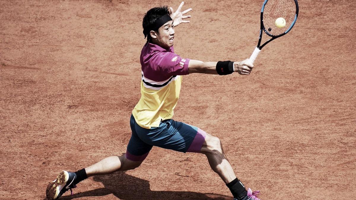 Em partida disputada, Nishikori vence Tsonga de virada e avança em Roland Garros