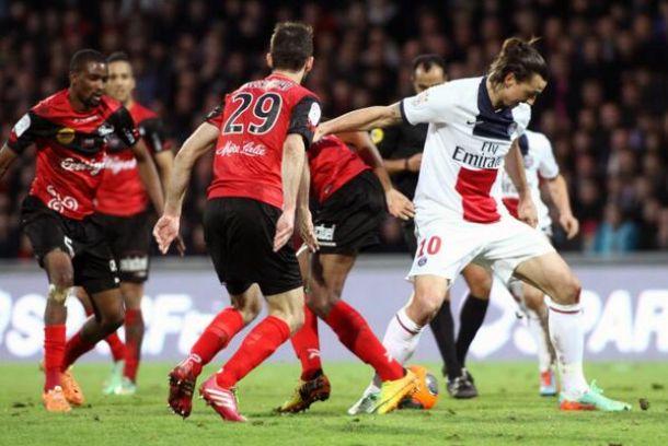 Alex sauve le PSG, Guingamp était proche de l'exploit