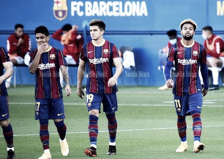 Barça B ante el Nástic esta temporada. | Foto: Noelia Déniz VAVEL