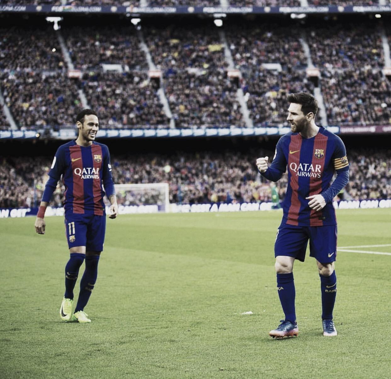 """Messi deseja retorno de Neymar ao Barcelona, mas ressalta: """"Difícil"""""""