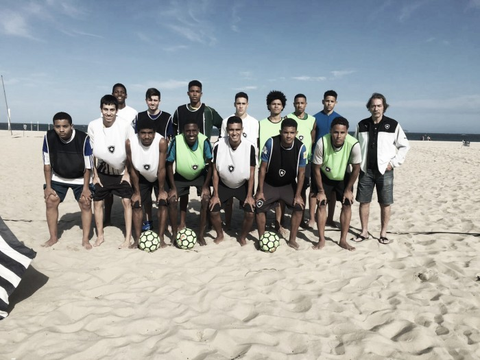 Botafogo recebe seletiva estadual sub-20 de Beach Soccer