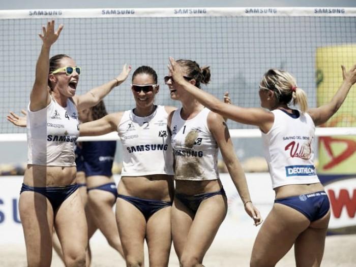 Volley F - La Savino del Bene Scandicci si aggiudica la Coppa Italia del Samsung Lega Volley Summer Tour