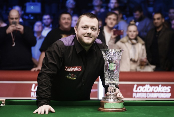 Mark Allen defeats Ricky Walden in the Players Championship Final