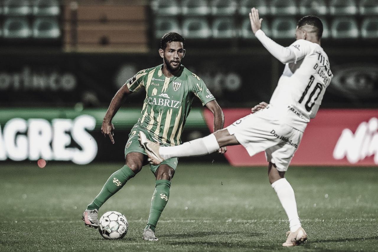 Titular do Tondela, Bebeto visa sequência de jogos e bons resultados pela equipe