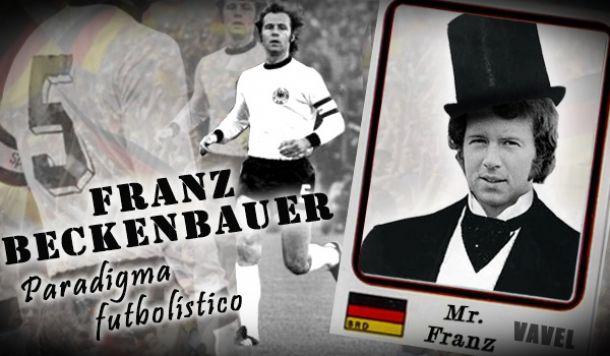 Sonetos del fútbol: Franz Beckenbauer