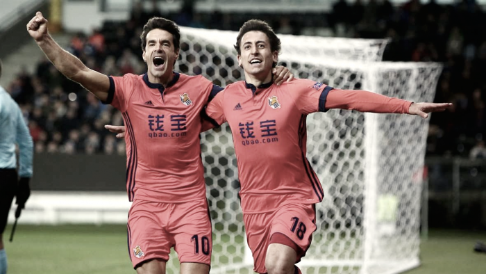Real Sociedad- Rosenborg: puntuaciones de la Real Sociedad, jornada 5 de la Europa League