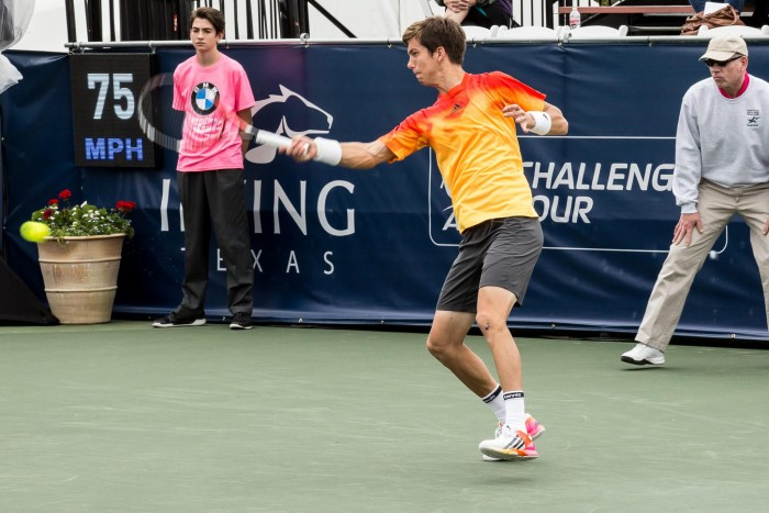 Irving Tennis Classic: Defending Champ Aljaz Bedene Defeats  Dmitry Tursunov In Three Set Squeaker