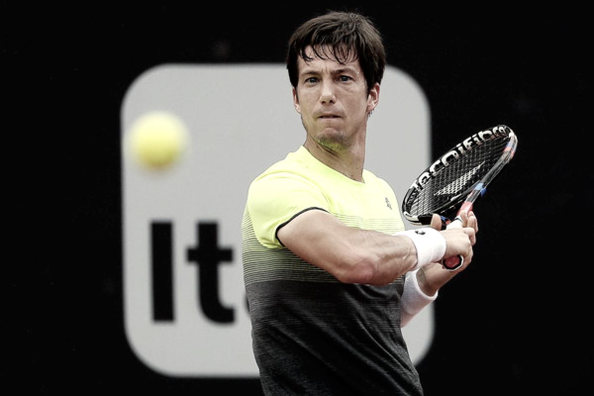 Aljaz Bedene, próximo rival de Rafael Nadal
