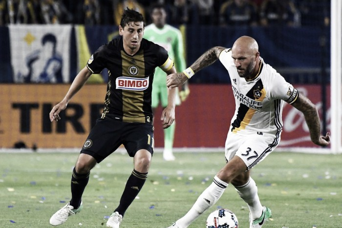 Philadelphia Union hold on to secure a point at the Los Angeles Galaxy