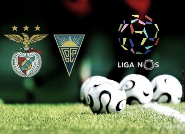 Contra o Estoril, ansioso Benfica de Vitória procura ainda a primeira...Vitória