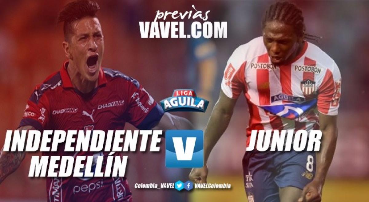 Previa Medellín vs Junior: el local va arriba, pero el visitante es de cuidado