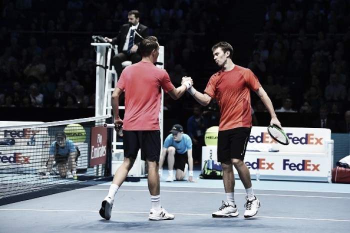 ATP World Tour Finals: Kontinen/Peers put in dominant performance to ease past Klaasen/Ram