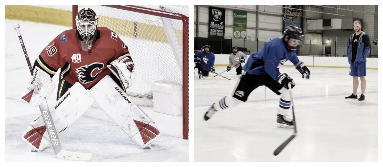 La Universidad de Alabama - Huntsville mantiene su equipo de hockey con ayuda de Cam Talbot