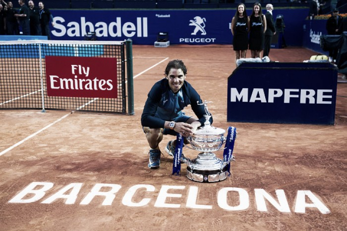 Rafael Nadal the first player to announce participation for the Barcelona Open Banc Sabadell