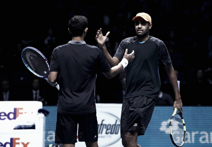 ATP World Tour Finals: Klaasen/Ram ease past Murray/Soares in straight sets to advance to the final