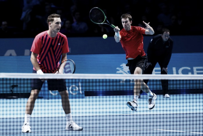 ATP World Tour Finals: Kontinen/Peers defeatLopez/Lopez in straight sets to gain victory