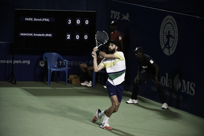 ATP Chennai Day Two Recap: Perfect day for seeded players