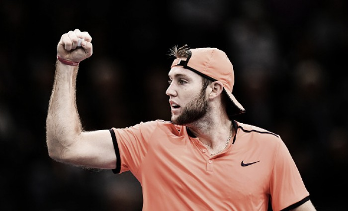 ATP Paris: Jack Sock fights to knock out home favourite Richard Gasquet