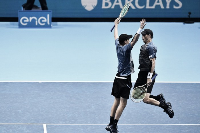 ATP World Tour Finals: Bryans get off to perfect start with victory over Dodig/Melo