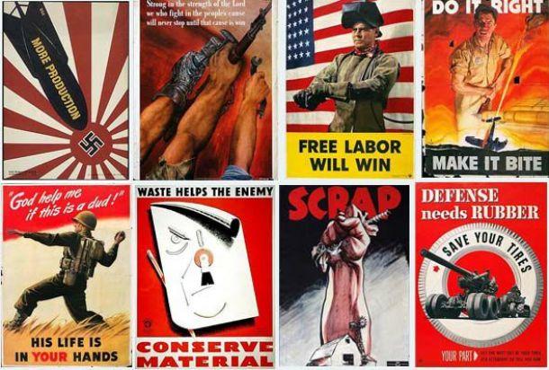 Carteles que cambiaron la historia: EEUU a las trincheras