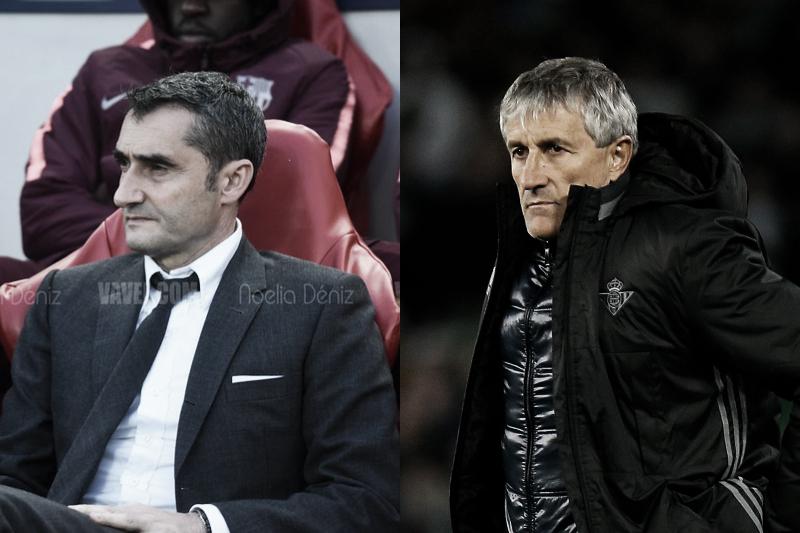 OFICIAL: Quique Setién reemplaza a Ernesto Valverde como entrenador del FC Barcelona