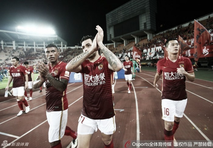 Super Liga Chinesa volta com todo vapor e caça ao líder Guangzhou Evergrande