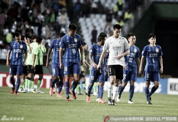 Oitava rodada da Liga Chinesa tem os três primeiros na tabela jogando no mesmo horário