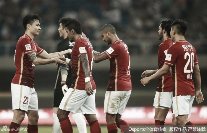 Guangzhou Evergrande e Hebei China Fortune têm provas de fogo na China