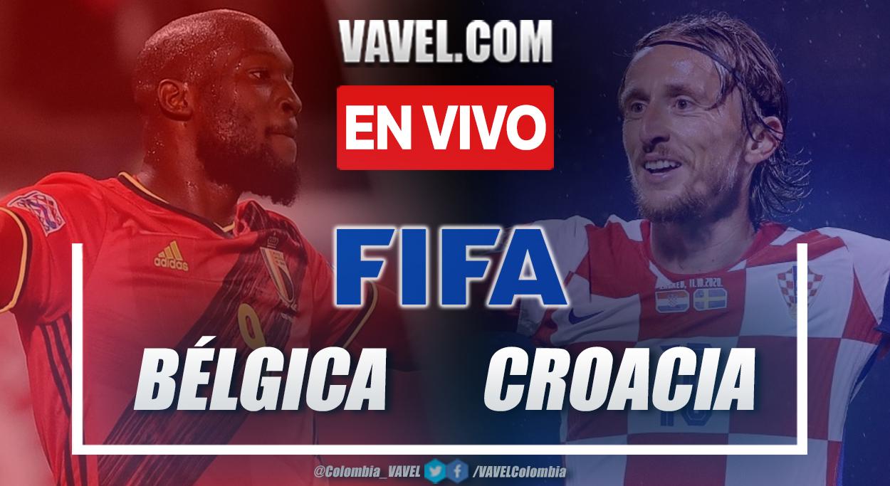 Resumen y gol: Bélgica vs Croacia (1-0) en partido amistoso 2021