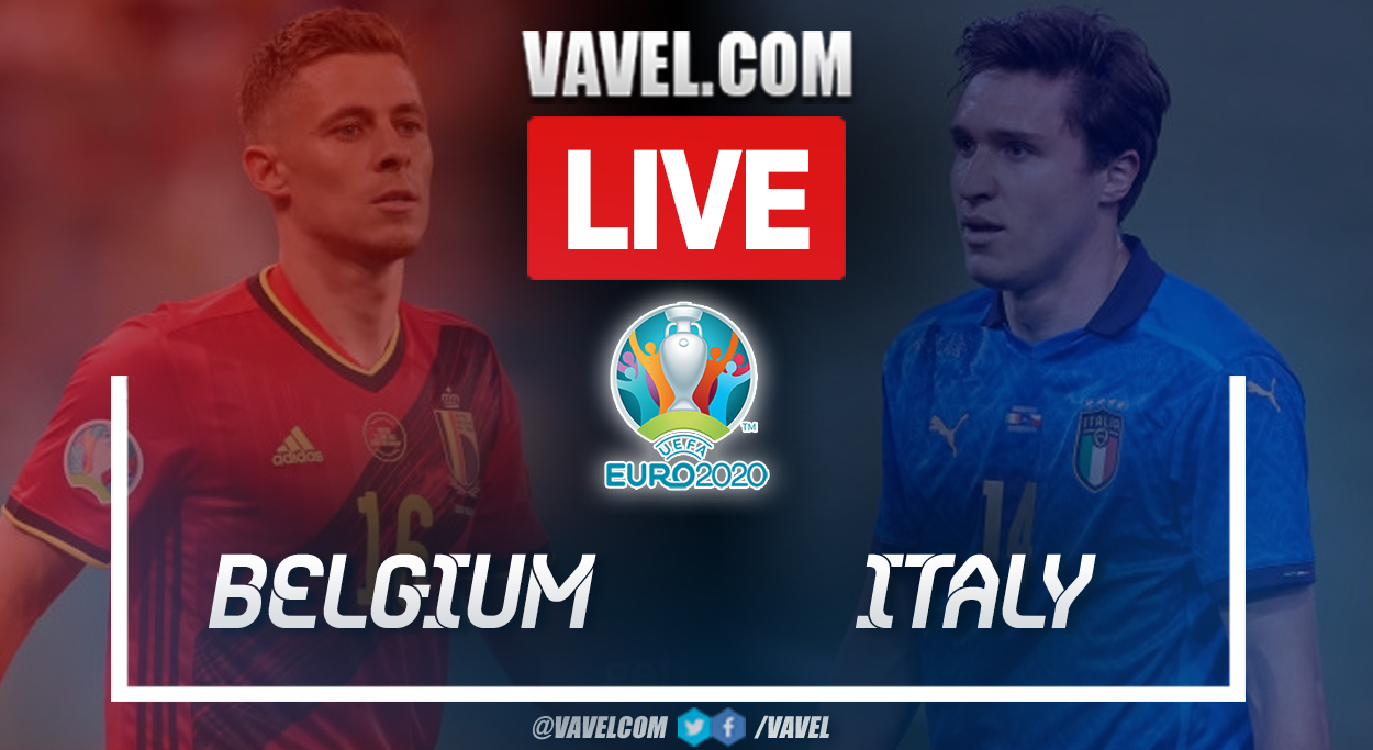 Highlights and goals: Belgium 1-2 Italy in UEFA Euro 2020 Quarterfinals match