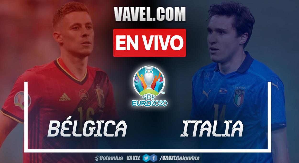 Resumen y goles: Bélgica 1-2 Italia en cuartos de final de la UEFA Euro 2020
