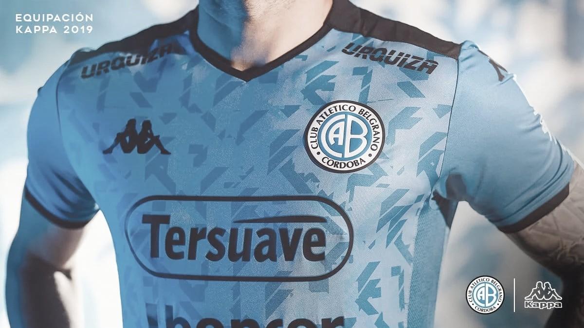 """Belgrano presentó nueva """"casaca"""""""