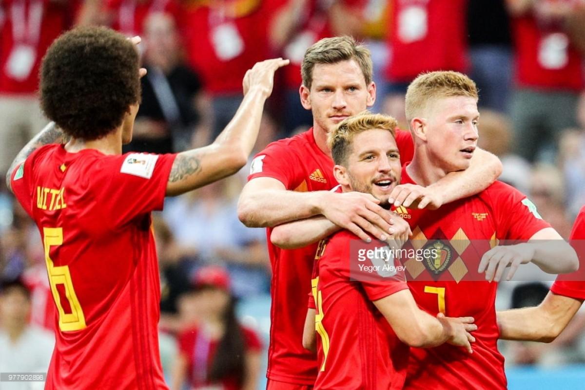 Belgium 3-0 Panama: Lukaku double and Mertens volley send Red Devils on their way